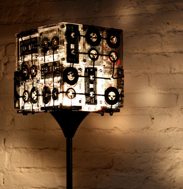 Cassette Lamp by OOO My Design