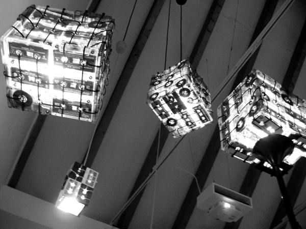 Cassette Lamps by OOO My Design