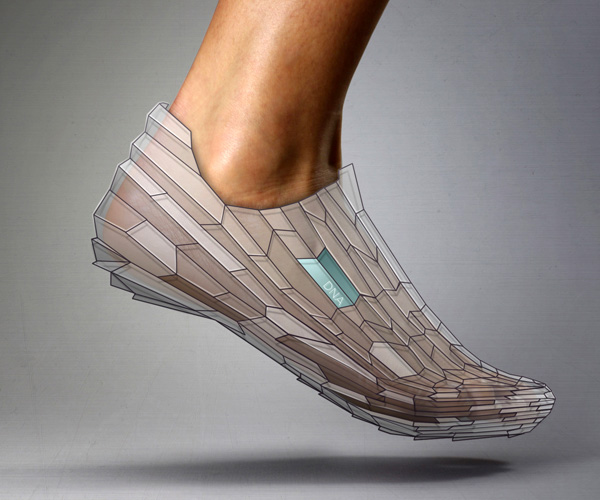 3D Printed Shoe by Alex Diener & Pensar