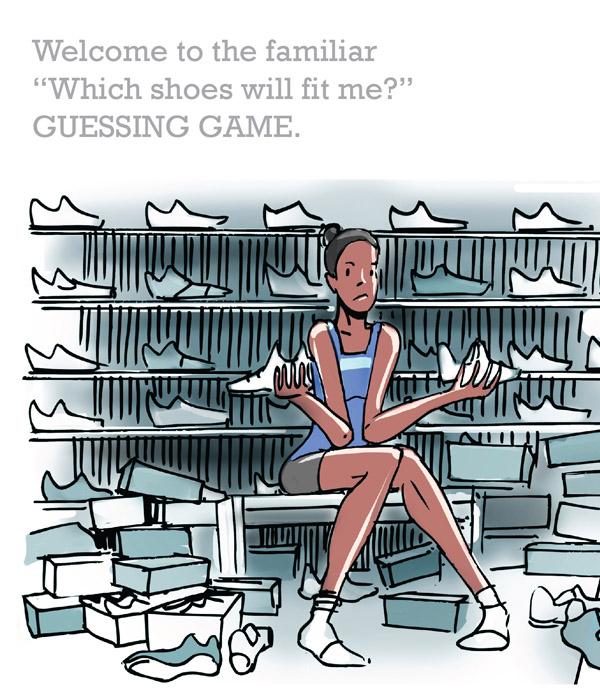 3D Shoes! Footloose!
