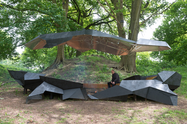 Stealth Pavillion by Paul Segers