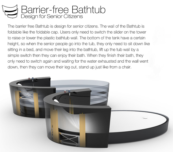 Barrier Free Bathing Yanko Design
