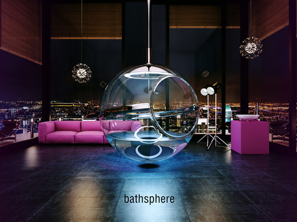 BATHSPHERE – Bathroom Concept by Alexander Zhukovsky