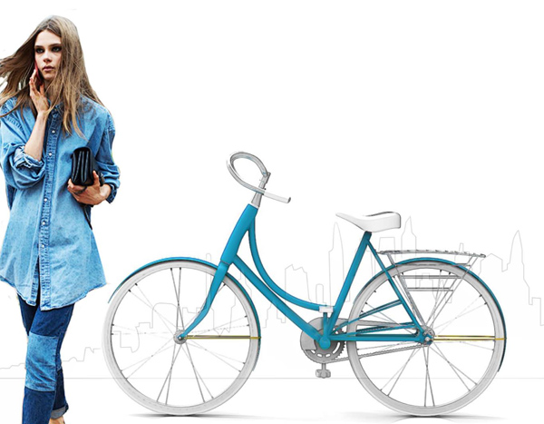 Fluxa - Women's Bicycle by Callie Clark