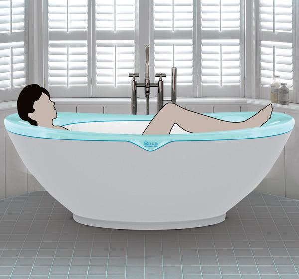 Blando - Roca Bathtub Concept by Andras Suto