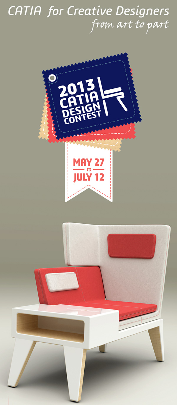CATIA Design contest 2013 - Win a Wacom Cintiq 13 HD