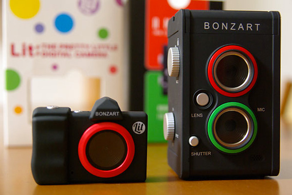 Bonzart Lit Mini LCD Digital Camera And Bonzart Ampel Tilt-Shift Twin Lens Digital Camera – Available at AC Gears