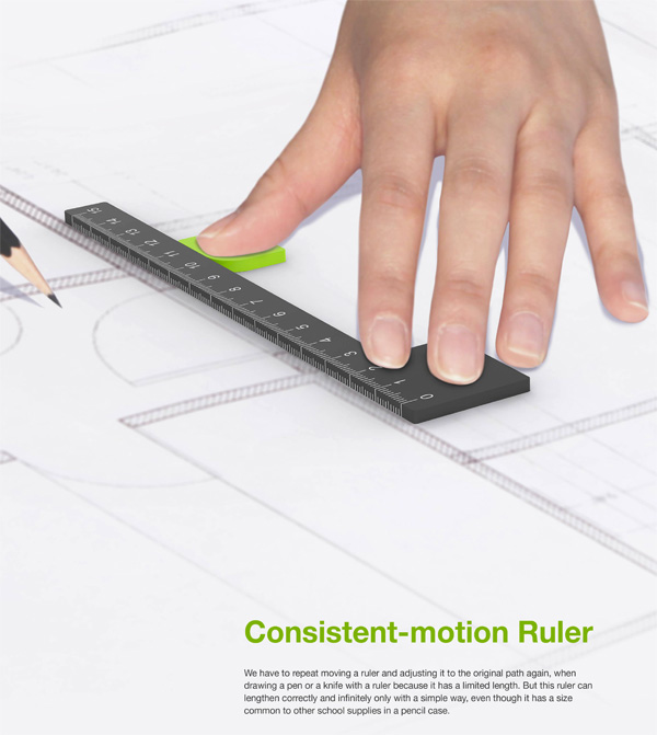 Consistent-motion Ruler by Myeongjin Kim
