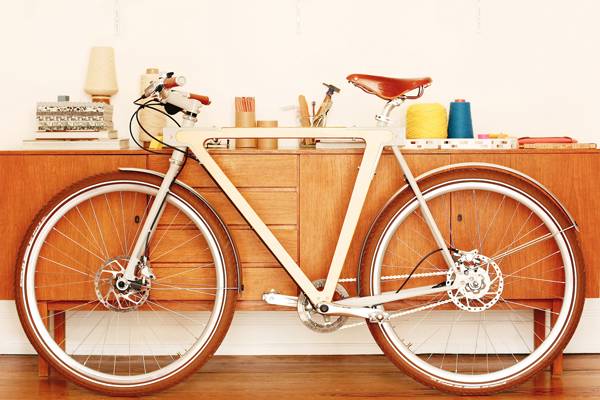 Wooden Bike Perfection