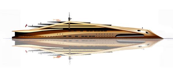 Stradivarius - 120m Yacht by Alex McDiarmid