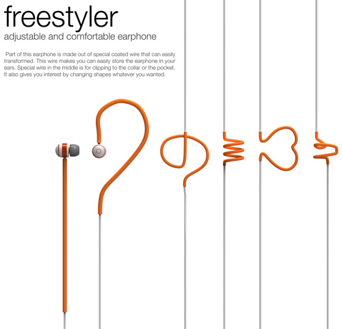 Freestyler – Earphone by Heewon Lee
