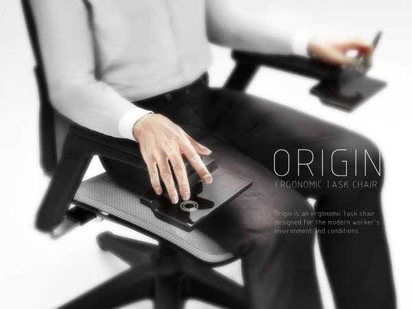 Origin - Office Chair by Edwin Cruz