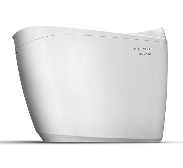 One Touch Spa Tub – The World's First Smart Spa Tub by Javier Bao – 3 Droplets