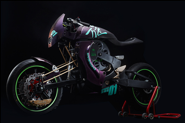 Revolver - Motorcycle Concept by Darren Kuo