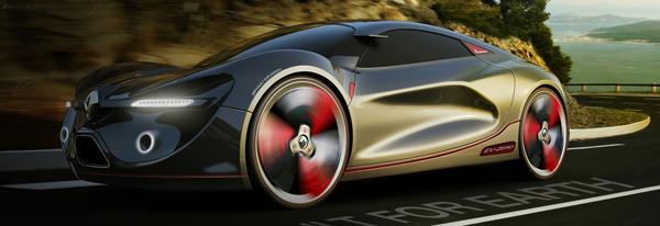 EV-Zero - Concept Car by Yang Min-seok