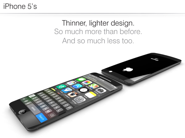 iphone new Le fameux iPhone 5S ?