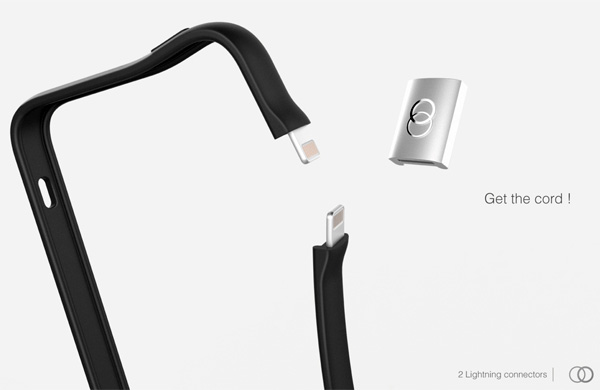 Juice up – iPhone Guard and Power Sharing Cable for Battery Backup by Francois Rybarczyk