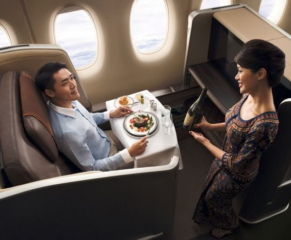 First Class Interior by BMW Designworks USA for Singapore Airlines
