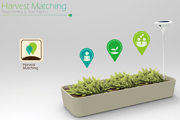 Electrolux Harvest Matching – Herb Patch by Ke chang-han