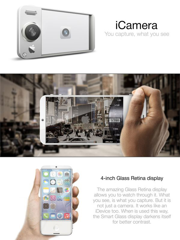 Apple iCamera – Concept Camera by Tomas Moyano