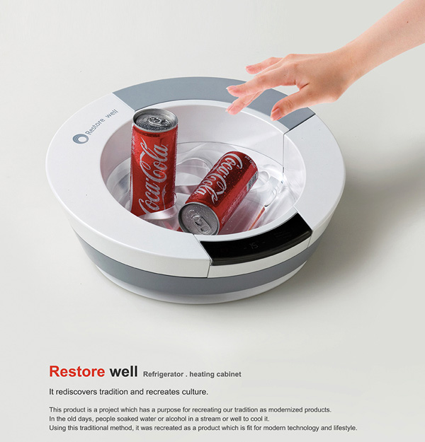 Restore Well – Ice Cold Storage Pack for Drinks by Song Kyuho