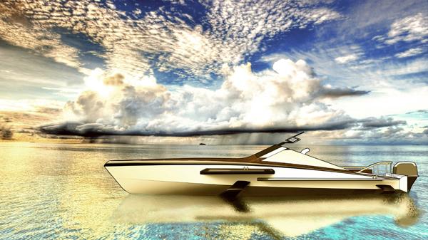 Spearhead Yacht by Alexander Shevchenko