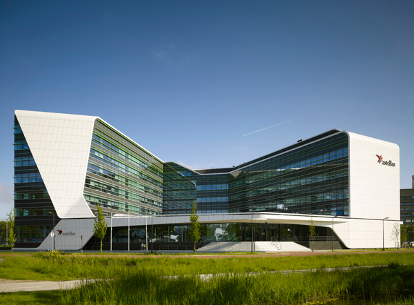 Mirai House, Leiden Bio Science Park in The Netherlands by UNStudio