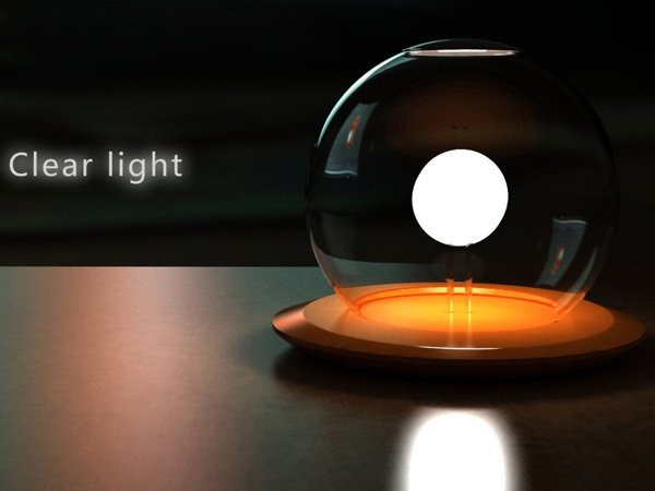 Clear Light – Lamp Concept by Siyu Huang & Jiahui Song