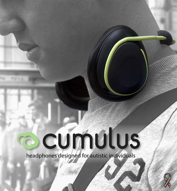 Cumulus – Stylish Headphones for Autistic Adults by Diamond Ho