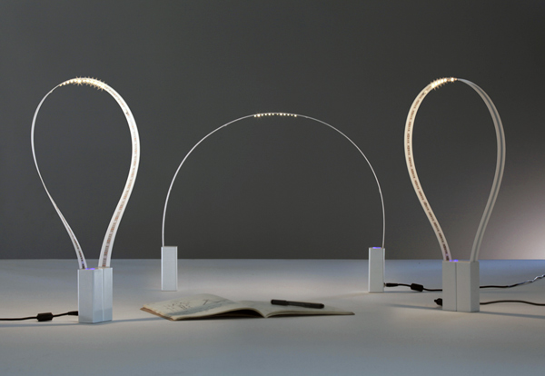 Fluida - Flexible Lamp by Studio Natural