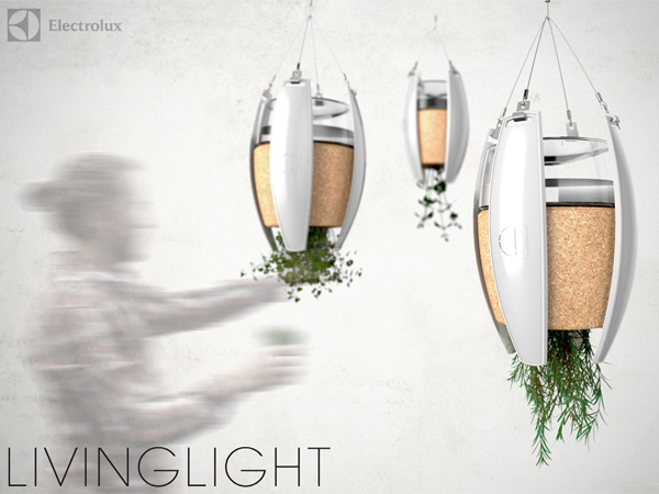 LivingLight – OLED Luminaire and Herb Garden by Michael Oechsle