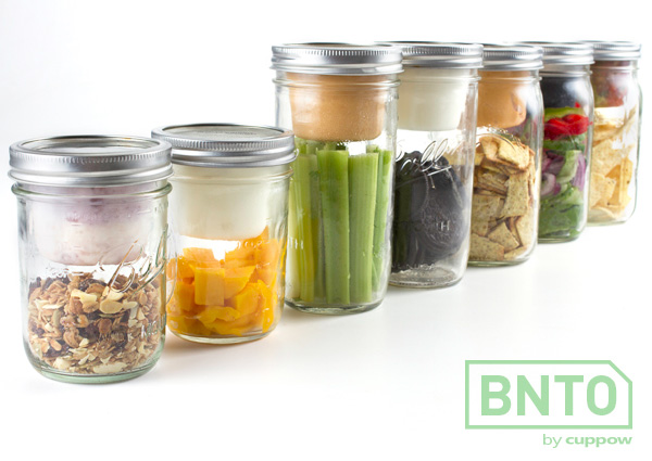 BNTO Canning Jar Lunchbox by Cuppow