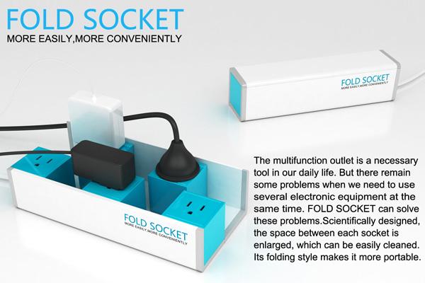Fold Socket - Multitap by Qi Qiu, Shang Zhi & Surong Sun