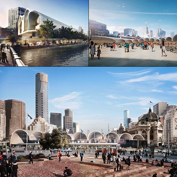 Flinders Street Station in Melbourne by HASSELL + Herzog & de Meuron