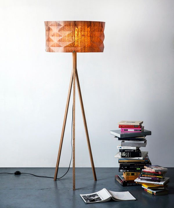 Folded Lamp Series by Ariel Zuckerman