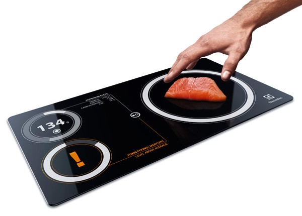 Electrolux Nutrima – Kitchen Scale and Toxic Indicator by Janne Palovuori