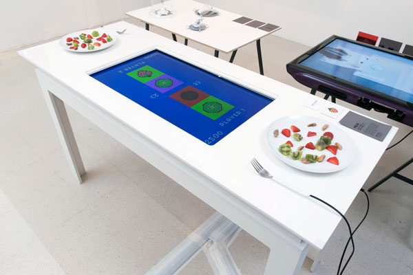 Pixelate - Interactive Food Game by Sures Kumar & Lana Z Porter