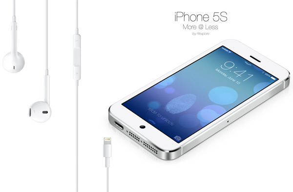 Rexplore's iPhone 5S Concept by Zeki Ozek