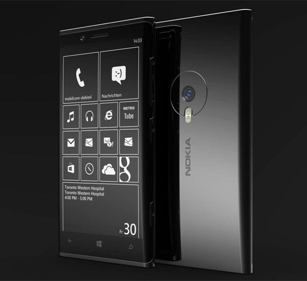 Nokia Lumia 999 Concept Smarphone by Phone Designer (Jonas Dähnert)