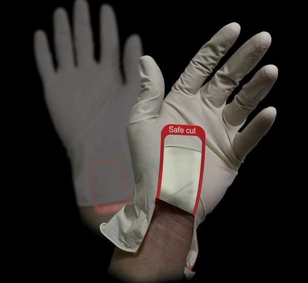 Safe Cut Surgical Glove by Park Bomin, Jung Sumi & Chu Yeunho