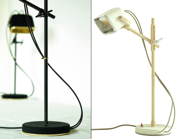 MOB VELVET and WOB WOOD - Lamps by swabdesign