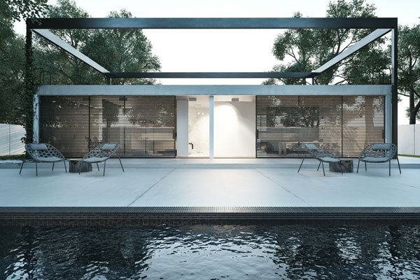 Frame - Architecture by Igor Sirotov