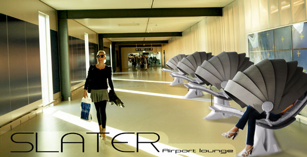 Slater - Airport Lounge by Uriel Serrano
