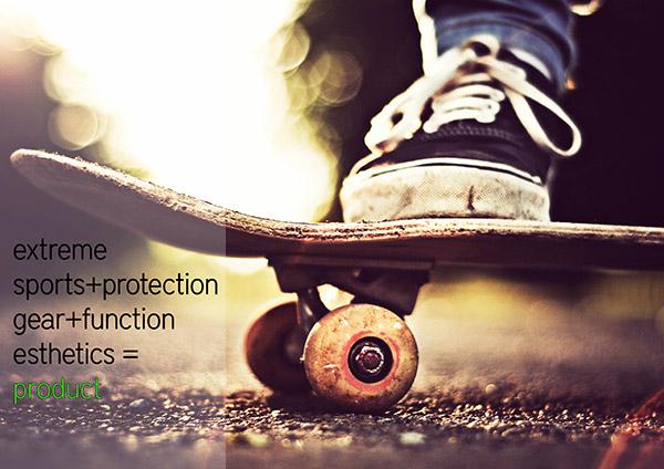 PLEXUS - Skateboarding Protective Gear by Subinay Malhotra
