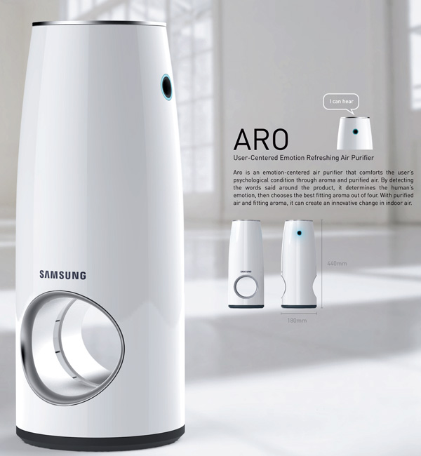 Aro – Air Purifier by Giuk Choi