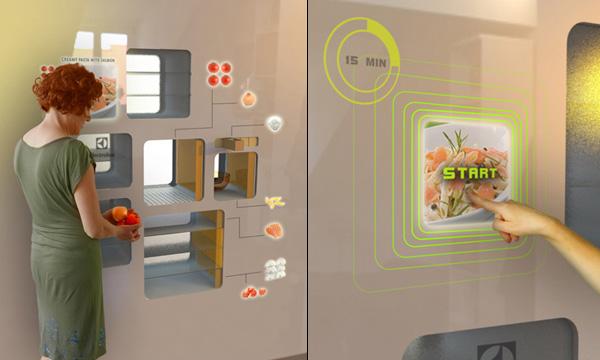 Electrolux 2D Smart Kitchen by Ermi van Oers