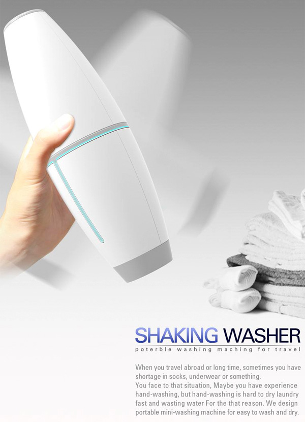 Shaking Washer - Personal Washer by Jung Seub Lee