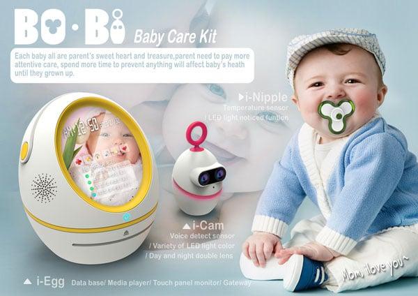 Bo-Bi Baby Monitor System by Jeff Huang
