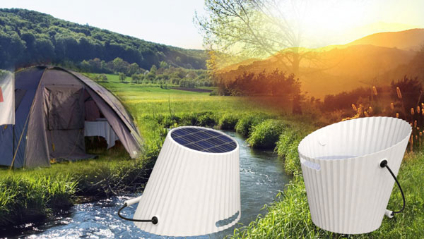 Solar Energy Bucket by Chia-Yuan Pai