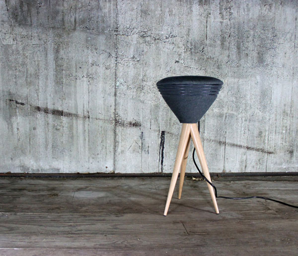 PIK - Stool/Amplifier by Jarred Christison